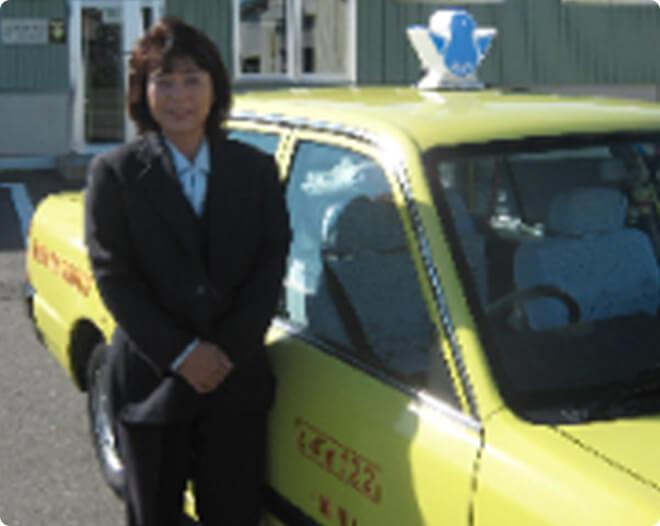 タクシー乗務の様子